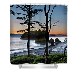 Ruby Beach #2 Shower Curtain