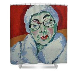 Ruby May Box Birmingham Shower Curtain by Nop Briex