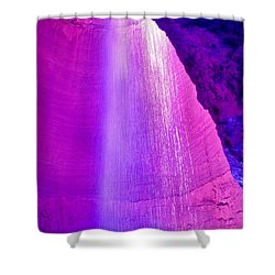Ruby Niagara Falls Shower Curtain