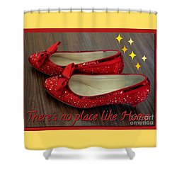 Ruby Slippers Shower Curtain