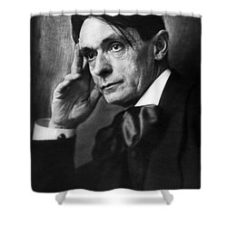 Rudolf Steiner (1861-1925) Shower Curtain by Granger
