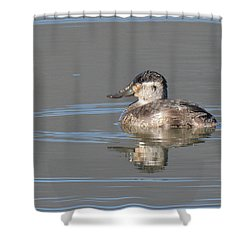 Rudy Duck Shower Curtain