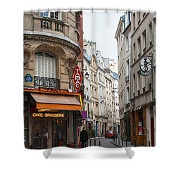 Rue Dante Paris Shower Curtain
