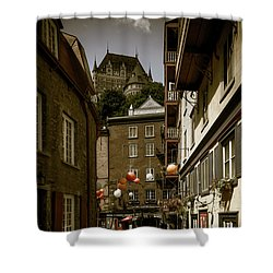 Rue Du Cul De Sac Shower Curtain
