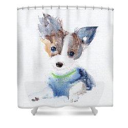 Ruffell Wilson  Shower Curtain