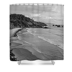 Rugged Beauty Shower Curtain by Don Schwartz