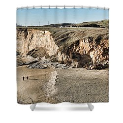 Rugged Coastline Shower Curtain