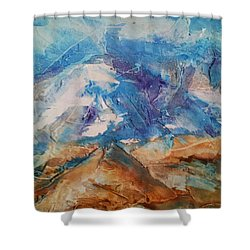 Rugged Terrain Shower Curtain