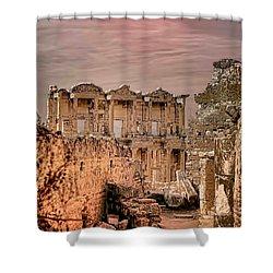 Ruins Of Ephesus Shower Curtain