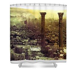 Ruins Of Jurash Shower Curtain
