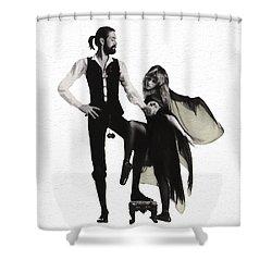 Rumours Painterly Shower Curtain