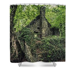 Run Down Mill Shower Curtain