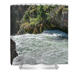 Run To The Brink Shower Curtain