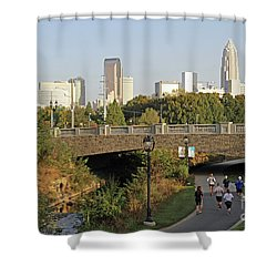Runable Charlotte Shower Curtain by Kevin McCarthy