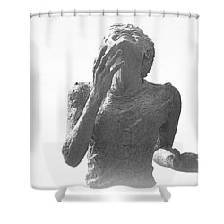 Shower Curtain featuring the photograph Runners Bliss by AJ Schibig