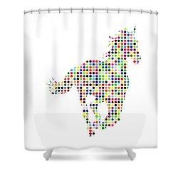 Running Shower Curtain