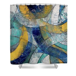 Running In Circles Shower Curtain