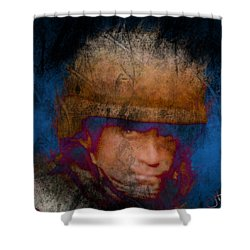 Running On Faith Shower Curtain