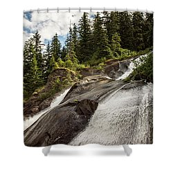 Runoff Shower Curtain