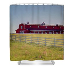 Shower Curtain featuring the photograph Rural Alabama by Donna Kennedy