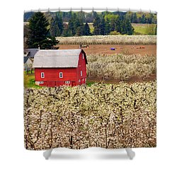 Rural Color Shower Curtain by Mike  Dawson