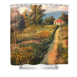 Rural Idyll Shower Curtain