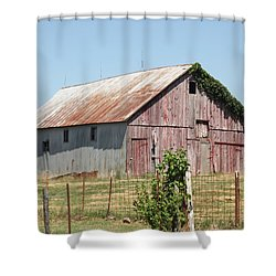 Rural Moberly  Shower Curtain