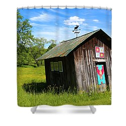 Rural Panache Shower Curtain