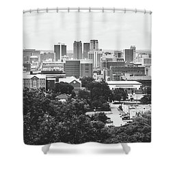 Shower Curtain featuring the photograph Rural Scenes In The Magic City by Shelby Young