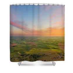 Rural Setting Shower Curtain by Ryan Manuel