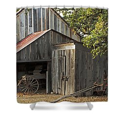 Rural Texas Shower Curtain