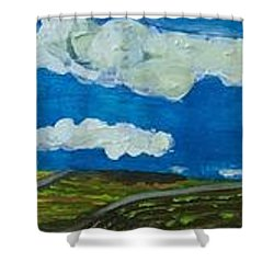 Rural View Shower Curtain by Jame hayes