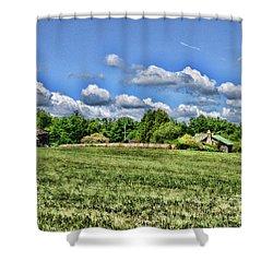 Rural Virginia Shower Curtain by Paul Ward