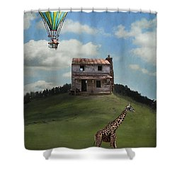 Rural World Shower Curtain by Kathy Russell
