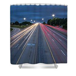 Rush Hour  Shower Curtain