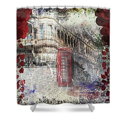 Russell Square Shower Curtain