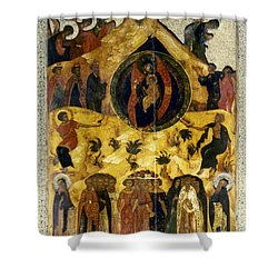Russian Icon Shower Curtain by Granger
