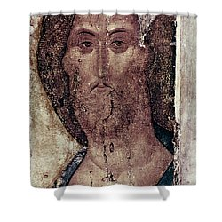 Russian Icons: The Saviour Shower Curtain by Granger