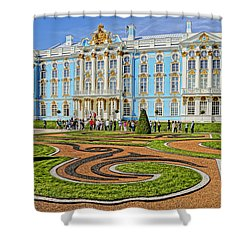 Russian Palace Shower Curtain by Dennis Cox WorldViews