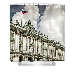 Russian Winter Palace Shower Curtain