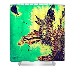 Rust 2  Shower Curtain