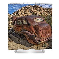 Rust Bucket Shower Curtain