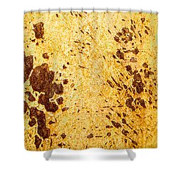Shower Curtain featuring the photograph Rust Metal by John Williams