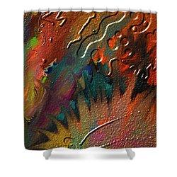 Rust Never Sleeps Shower Curtain by Kevin Caudill