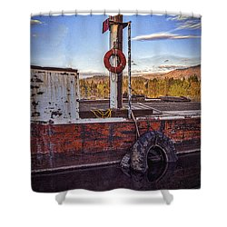 Shower Curtain featuring the photograph Rust Never Sleeps by Mitch Shindelbower