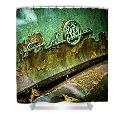 Rusted Ford Shower Curtain