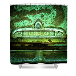Rusted Hudson Shower Curtain