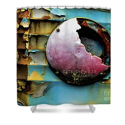 Rusted Series 3 Shower Curtain by Laura Atkinson