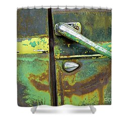 Rusted Series 4 Shower Curtain by Laura Atkinson