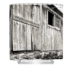 Shower Curtain featuring the photograph Rustic by Betsy Zimmerli